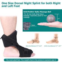 Ankle Brace Support Sports Adjustable Ankle Straps Foot Orthosis Stabilizer Ankle Protector with Spiky Massage Ball