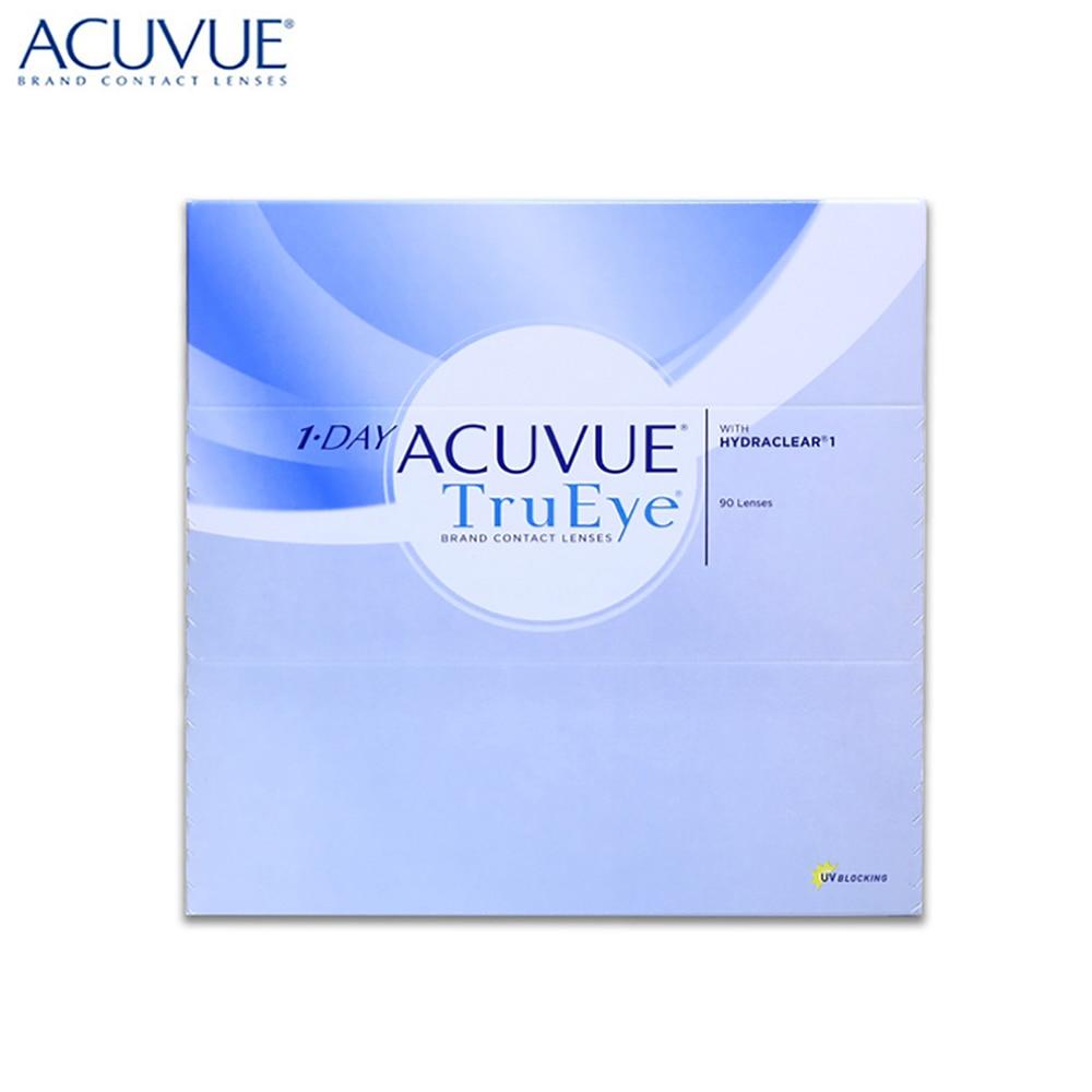 Контактные линзы acuvue trueye 90