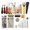 37 шт. набор инструментов для кожевенного ремесла, профессиональный набор для шитья вручную