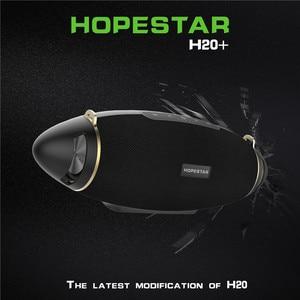 Image 2 - HOPESTAR H20 + Bluetooth Lautsprecher bass 30 W Drahtlose Tragbare Spalte Boombox Player Wasserdichte Bass Outdoor Subwoofer