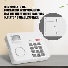 Беспроводной PIR датчик движения сигнализация Пароль Клавиатура анти защита от взлома домашняя клавиатура безопасности удаленный инфракрасные датчики