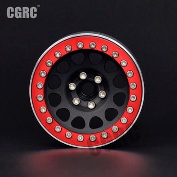 4Pcs 2.2inch Metal Wheel Rim Beadlock For 1/10 RC Crawler Car TRX4 Defender Bronco RC4WD D90 Axial Scx10 90046 CCO1 TF2