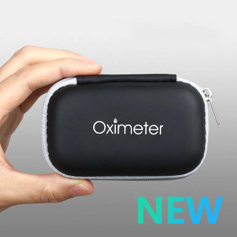 Eva Neutral Oximeter Zipper Package Accept Box Protect Sheath Tool Kit Product Bag Protect Bag Gift Package