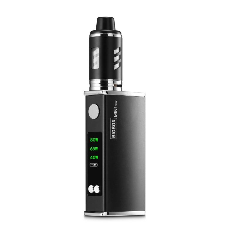 Original 80w Vaper Electronic Cigarette Kit LED 2200mah Battery Liquid E Cigarettes Vape Pen Vaporizer Box Mod Hookah Kit