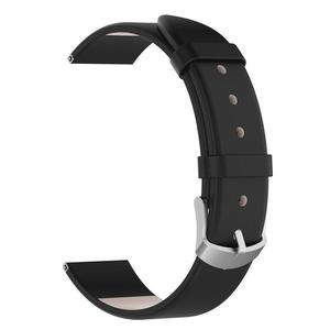 Image 4 - Wrist Belt Bracelet 20MM Genuine Leather Replacement Breathable Lightweight Durable Watch Band Straps Long Lasting For Garmin