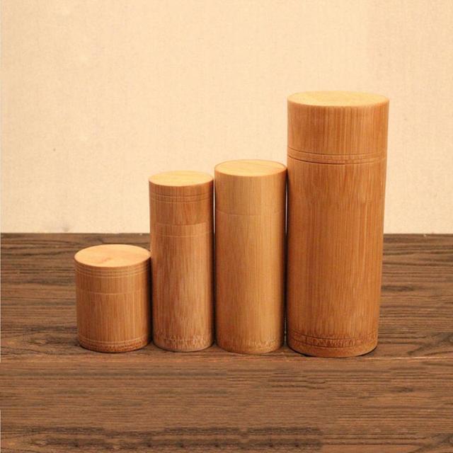 Bamboo Tea Jar