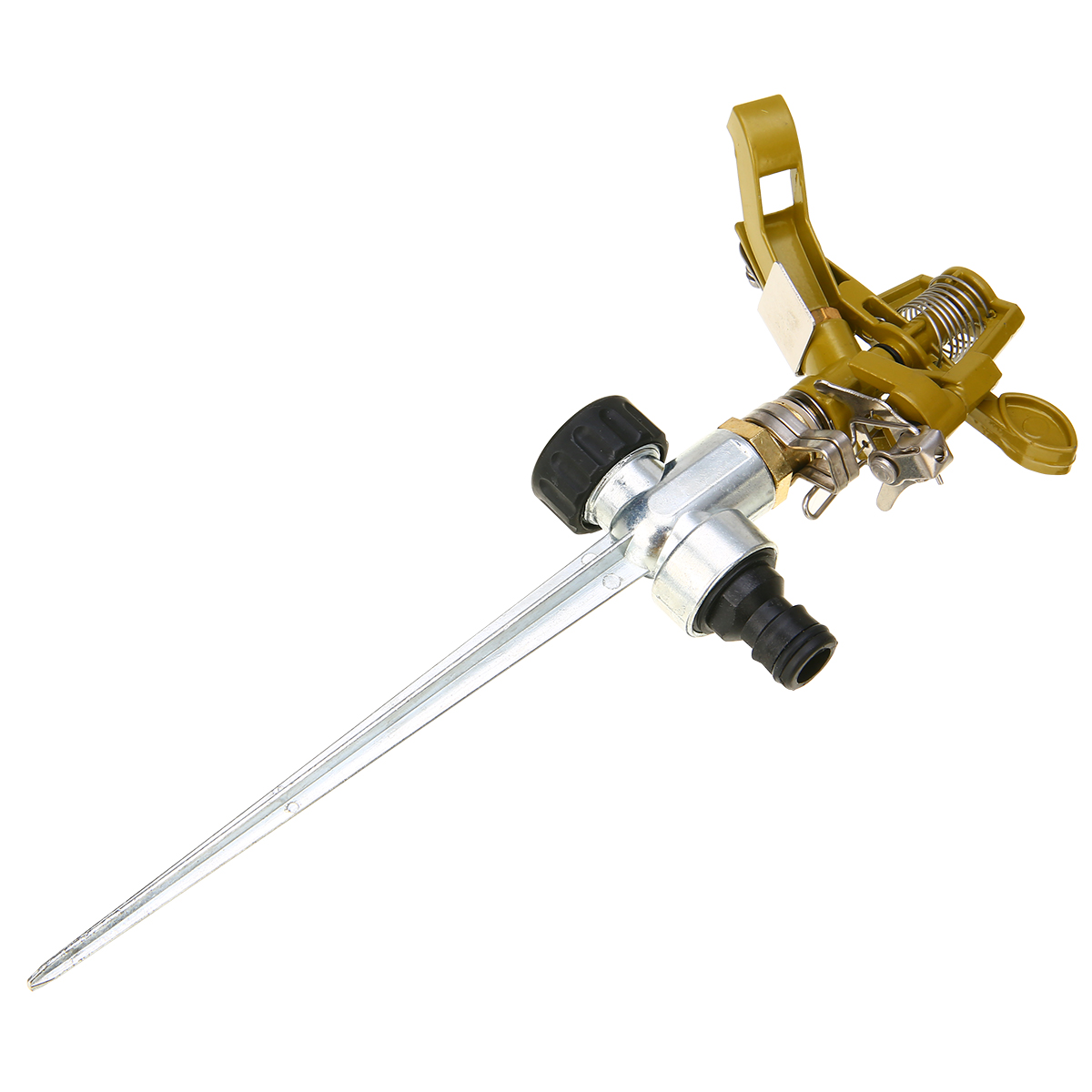 Mayitr Garden Metal Sprinkler Spike Lawn Grass 360 Degree