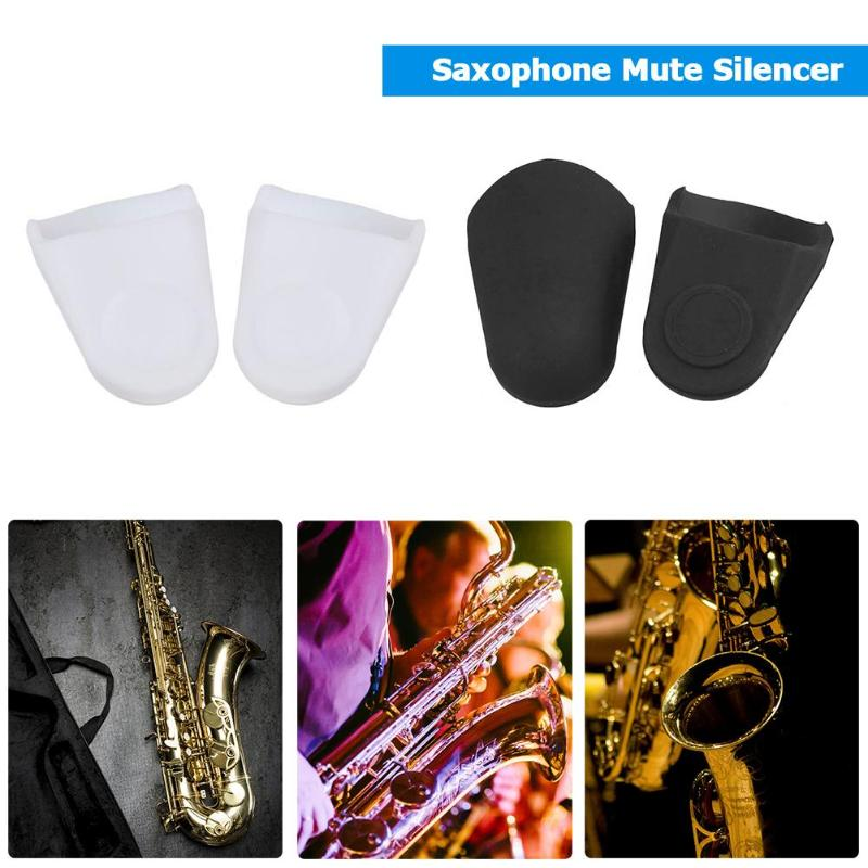 2pcs Rubber Mouthpiece Protective Caps For Baritone Saxophone Sax Clarinet Musical Instruments