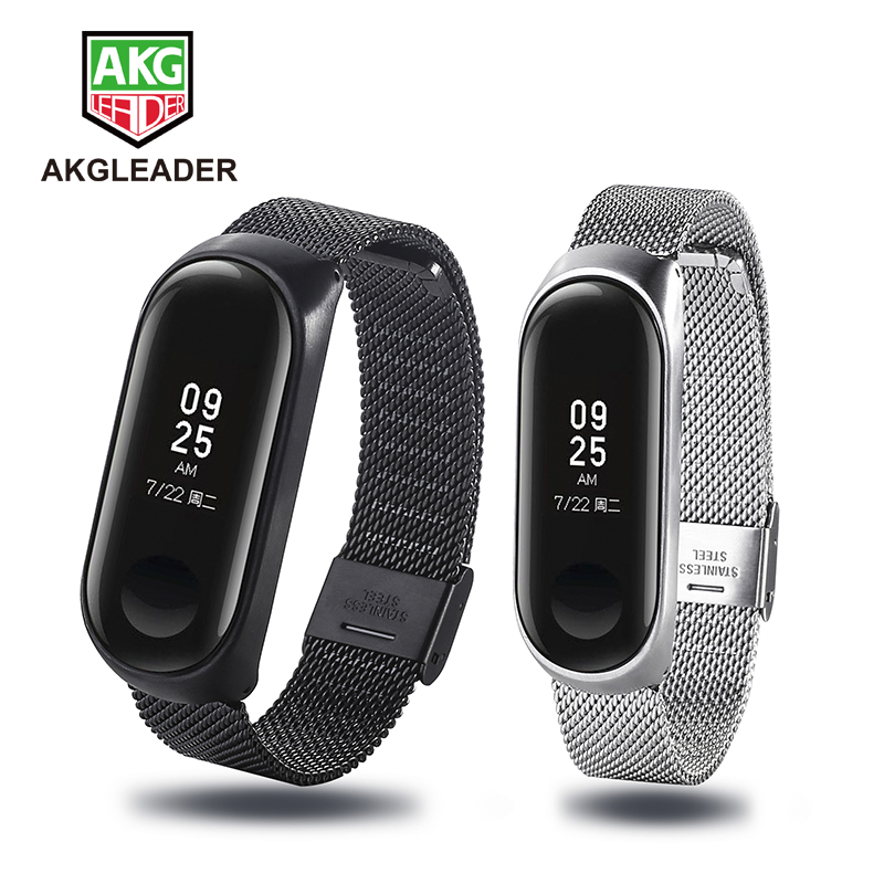 <font><b>xiaomi</b></font> band <font><b>2</b></font> straps Wrist Strap Screwless Stainless Steel For <font><b>Xiaomi</b></font> Band 3 <font><b>correa</b></font> Bracelet <font><b>Miband</b></font> <font><b>2</b></font> Wristbands Pulseira image