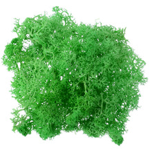 1pcs 10g DIY Artificial Moss Fake Decorative Green Plant for Home Garden Wedding Decoration Flower Accessories