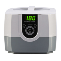 1400ml Intelligent Ultrasonic Cleaner for Glasses Watch Jewelry Household Cleaning Appliance Moisture Proof Ultrasonic Cleaner
