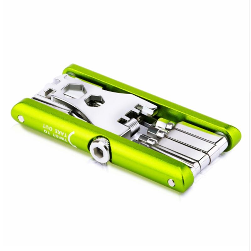 JAKEMY Bicycle Repair Tool Multi Functional Tool Kits Hex Spoke Wrench Screwdriver