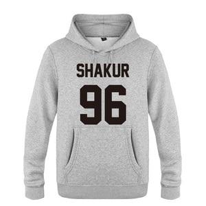 Image 5 - Shakur 96 Tupac 2PAC Rock Rap Hoodies Men 2018 Mens Pullover Fleece Hooded Sweatshirts