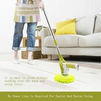 Scrubber Cleaning Brush Household Rotary Mop Wood Floor Waxing Machine Glass Cleaner Car Polishing Electric Spin Scrubber