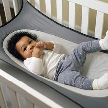 Baby Infrants Hammock Summer Breathtable Mesh Washable Newborn Protable Crib 130*80CM