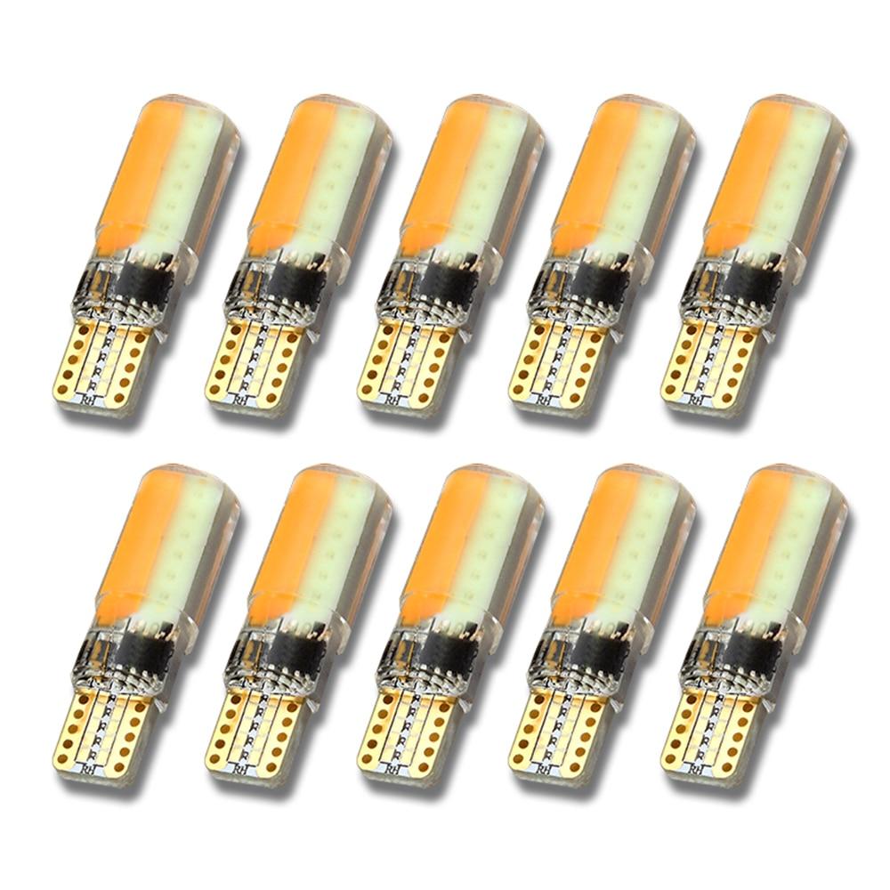 Cob T10 Pcs De Silice Flash Largeur Achat Led W5w 10 Lumière Voiture TlKJ1Fc3