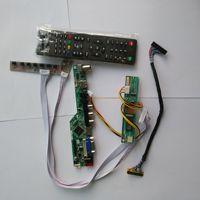 """تلفزيون LCD LED VGA HDMI AV RF USB الصوت تحكم مجلس لسامسونج عرض LTN154X3 L06 1280*800 15.4 """"لوحة مراقبة-في مكونات إصلاح الكمبيوتر المحمول من الكمبيوتر والمكتب على"""