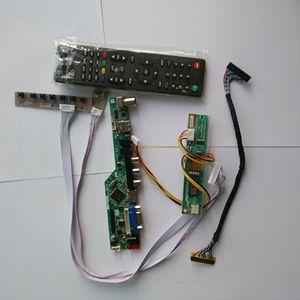 "Image 1 - TV LCD LED VGA HDMI AV RF USB Audio Controller Board Für Samsung display LTN154X3 L06 1280*800 15,4"" monitor panel"