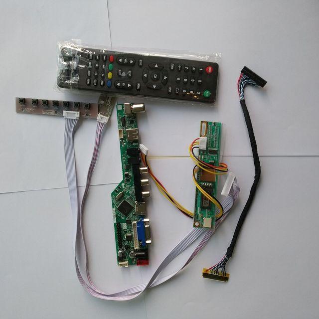 "TV LCD LED VGA HDMI AV RF USB Audio Controller Board Für Samsung display LTN154X3 L06 1280*800 15,4"" monitor panel"