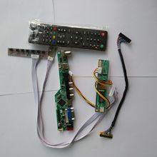 """TV LCD LED VGA HDMI AV USB RF Điều Khiển Âm Thanh Hội Đồng Quản Trị Đối Với Samsung hiển thị LTN154X3 L06 1280*800 15.4"""" màn hình bảng điều khiển"""