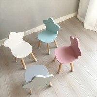 Новая детская мебель из массива дерева для учебы в детском саду утолщение стул детский обеденный стул 50x29x25 см