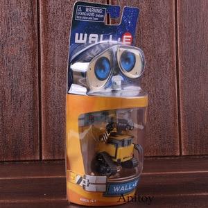 Image 3 - רובוט וול E & EVE PVC פעולה איור אוסף דגם צעצועי בובות 6cm