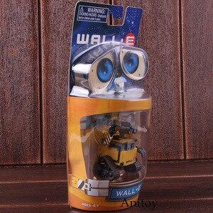 Image 3 - Wall e robô parede e & eve pvc action figure coleção modelo brinquedos bonecas 6cm