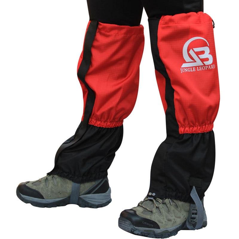 2dfb362f7f Étanche Vélo Ski Chaussures Couverture Hommes Femmes Ski Bottes de Neige  Gaiters Randonnée En Plein Air ...