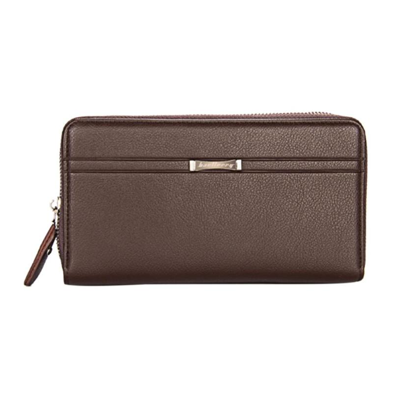 Hot Selling! Men's Clutch Bag Wallets Long Design Business Men's Wallet Driving Licence Credit Card Protector Holder Coin Purse