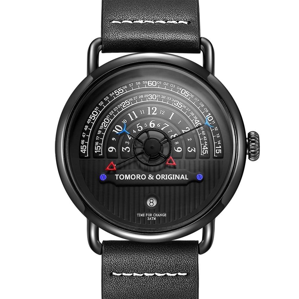 Most Creative Hour Read Design Unique Watch For Men Luxury Casual Man Watch 2019 Quartz Men Watches Male Clock Wristwatch Mens Quartz Watches Aliexpress