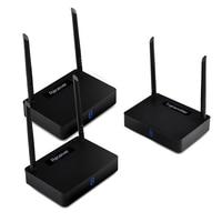 HD585 2 5,8 Г HDMI Беспроводной аудио видео ТВ отправителя 350 м 1080 P 60fps HD 1 передатчик 2 приемника для ПК ТВ коробка DVD проектор