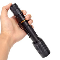 Strong light flashlight CREE T6 LED18650 lithium battery outdoor camping waterproof torch 1000 lumens flashlight