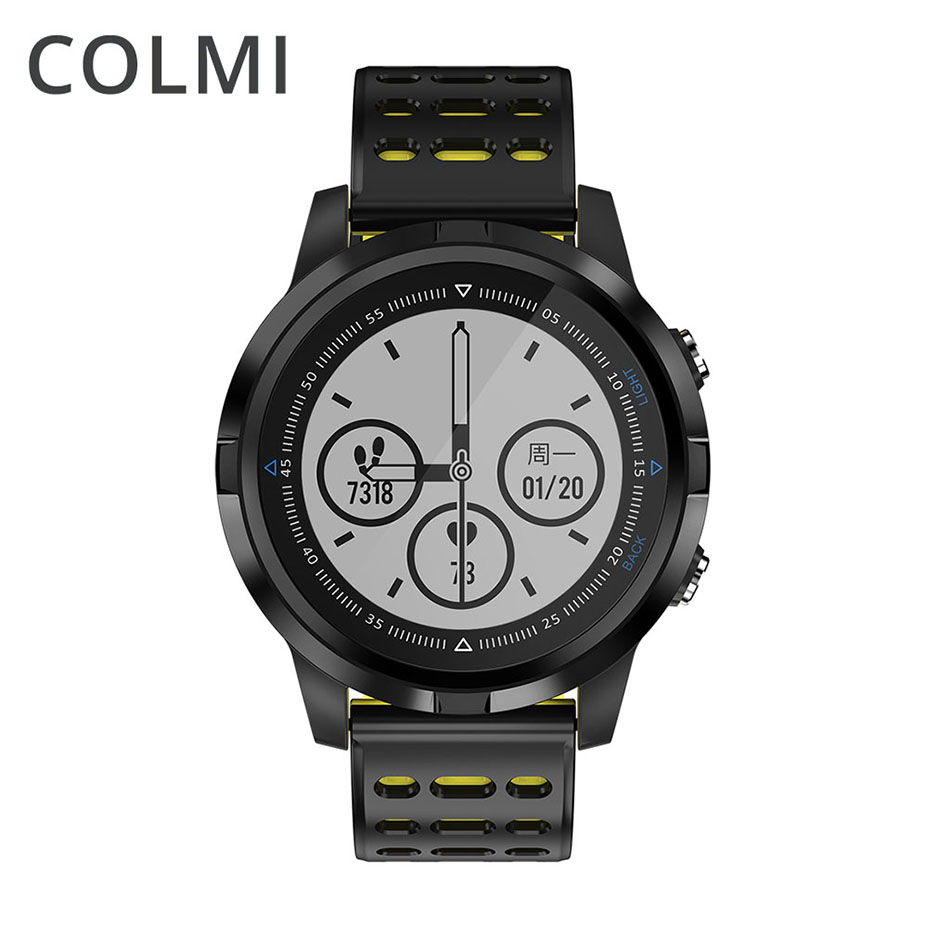 COLMI GPS Transflective Display Smart Watch Multiple Sports Modes Outdoor Fitness Tracker Smartwatch For Android IOS Phone