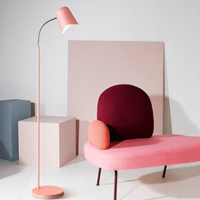 цены на Nordic Loft Led Light Floor Iron Floor Lamp Living Room Bedroom Study Desk Standing Lamp Fixtures   Luminaire Lighting  в интернет-магазинах