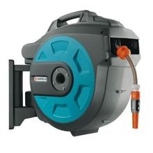 Катушка для шланга GARDENA 08026-20.000.00 (Высококачественный шланг 30 м, 2 м соединительного шланга, элементы OGS, наконечник для полива, настенный тип установки)