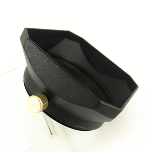 Image 3 - Square Lens Hood for Sony Fujifilm Olympus Mirrorless Camera Lenses DV Camcorders 37 39 40.5 43 46 49 52 55 58 mm