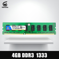 VEINEDA Dimm Ram DDR3 4 gb 1333Mhz ddr 3 PC3 10600 Compatible 1066 ,1600 Memory 240pin for All AMD Intel Desktop