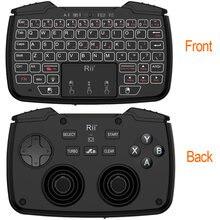 Беспроводная игровая мини клавиатура 24 ГГц с сенсорной панелью