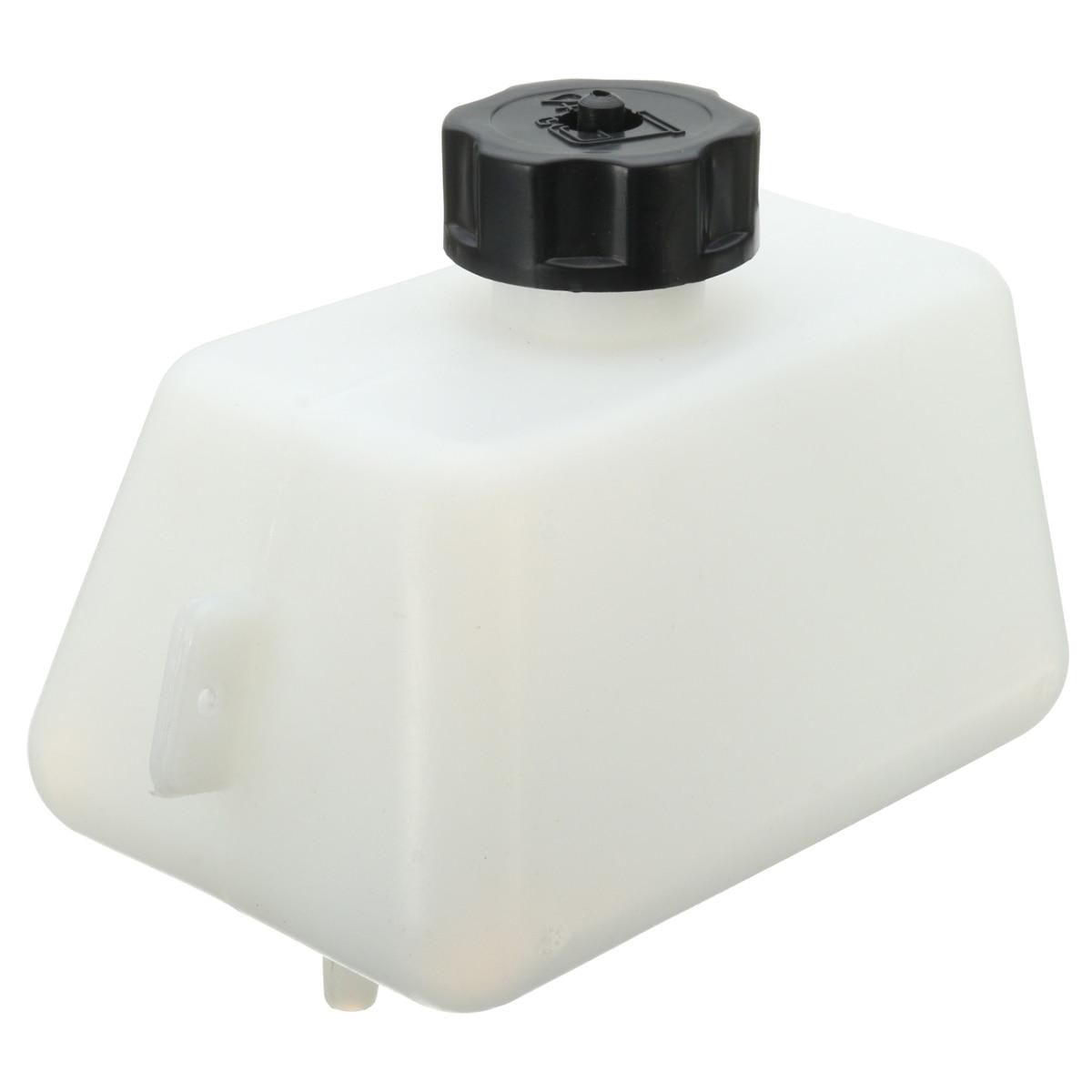 1.5l White Body Black Cap Plastic Motorcycle Petrol Fuel Tank For Mini Moto Pit Dirt Bike Dirtbikes Filter