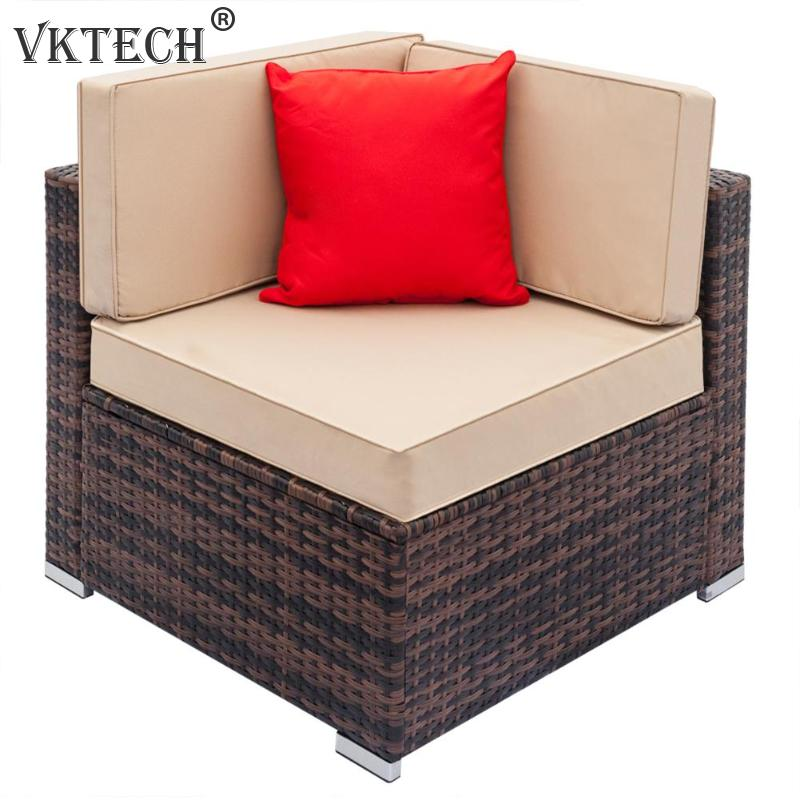 Удобный Диван Набор Винтаж полностью оборудованный ткачество гостиная ротанг левый угловой Диванный гарнитур домашний мебель домашний де