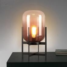 Nordic LED Glass Floor Lights Lighting Standing Lamp Living Room Bedroom Restaurant Lamps Kitchen Fixtures