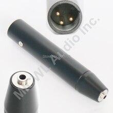 XLR 3Pin Phantom adaptateur secteur pour Sennheiser 3.5mm Jack Lavalier casque Instrument de musique Microphone pour table de mixage
