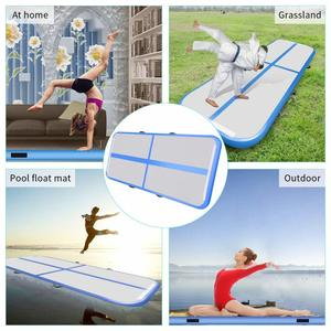 Image 5 - Free Shipping 6m/7m/8m*1m*0.2m Inflatable Gymnastics Airtrack Floor Tumbling Air Track For Kids Adult With Free Electronic Pump
