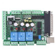 Máquina de gravura do cnc MACH3V2.1 L placa adaptador 4 axls 6 axls controlador acessórios novo