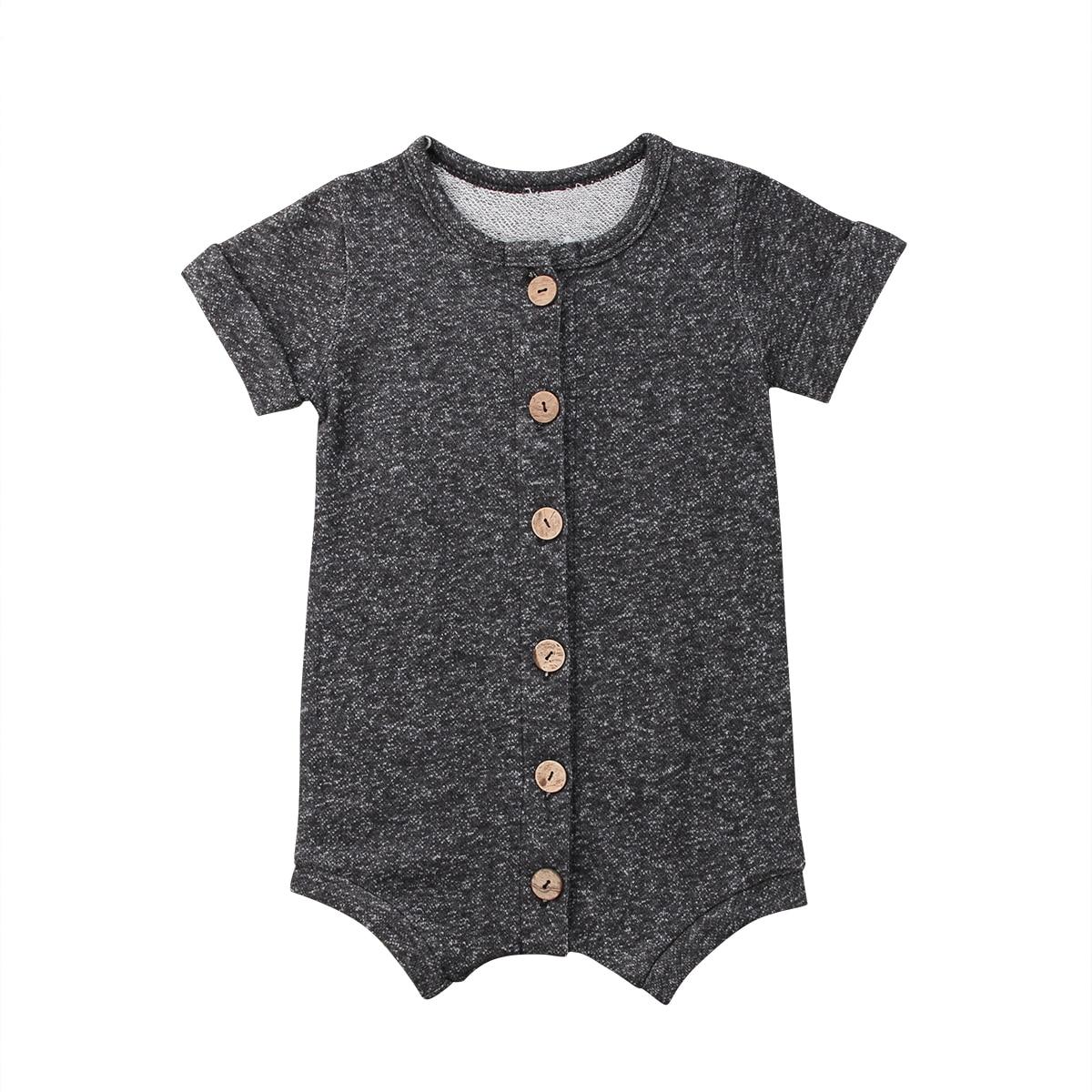 Newborn Baby Boys Girl Romper Jumpsuit Cotton Bodysuit Clothes Outfits  Overalls Clothes  Cotton Shorts  Short Sleeve Jumpsuit