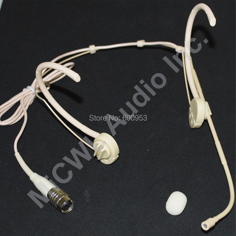 MiCWL Beige Folding SP12 Wireless Stage Song Microphone For Audio Technica Mini Hirose 4Pin Mic System