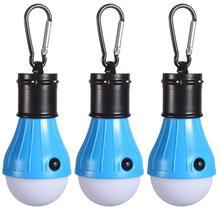 (3шт) альпинистская пряжка портативный фонарь аварийная палатка светодиодная лампочка для дома