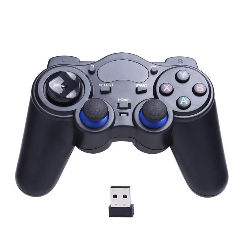 Juego inalámbrico Gamepad Joystick para Android TV Box PC GPD XD soporte regulador del juego 2 controladores simultáneamente