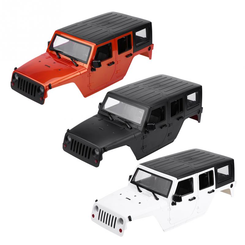 Remote Control Model Vehicle RC Car Body Shell for Axial SCX10 for Jeep Wrangler RC Crawler