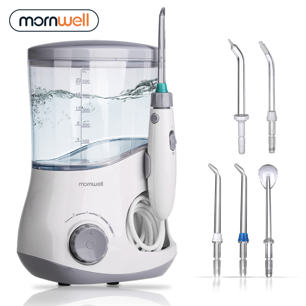 Dental Flosser Oral Irrigation Water Flosser Dental irrigator Power Floss Dental Water Jet Oral Irrigation Water Flosser Family 100pcs water flosser flycat fc168 oral irrigator 600ml tank 8pcs jet tips dental flosser power water jet protable oral deep